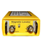 dml2000-XR magnetic locator survey equipment side view